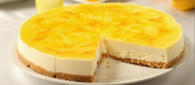 cheesecake senza glutine al limone