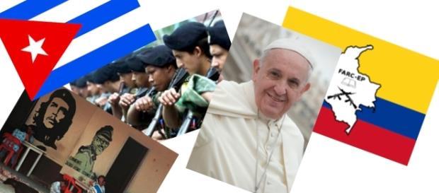 Las FARC buscan encontrarse con el Papa Francisco