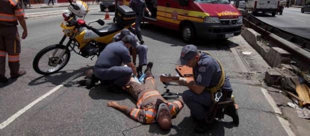 Policial está livre de perigo.