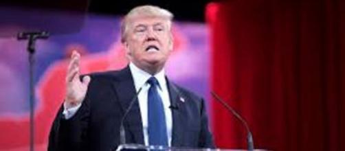 Donald Trump, en una de sus apariciones políticas.
