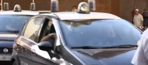 Carabinieri impegnati per le vie di Roma