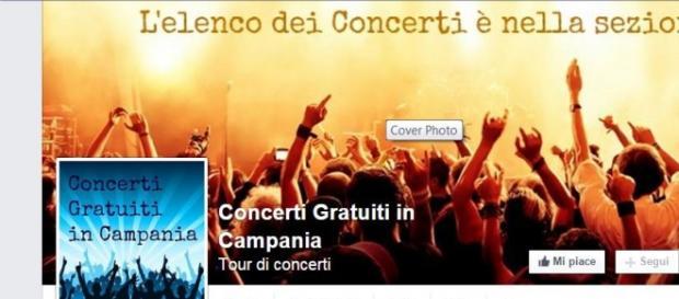 Concerti gratuiti Regione Campania