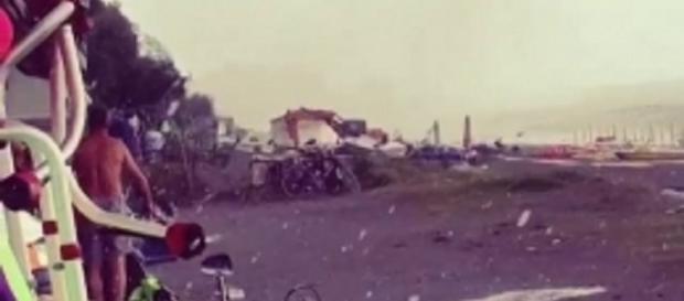 Maltempo in Calabria: tornado a Diamante.