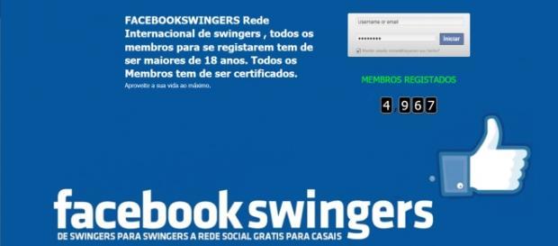 Redes sociais swingers em Portugal