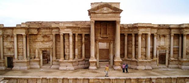 Teatrul antic din Palmyra bijuterie a antichităţii