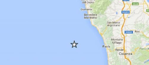 La localizzazione del terremoto
