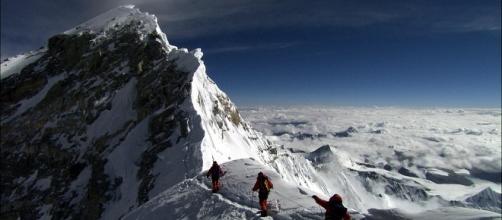The climber's dream: Mount Everest.