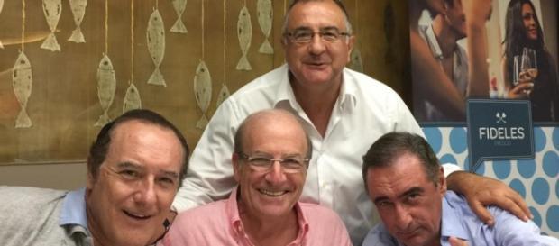 Carlos Herrera en Huelva en Las Colombinas