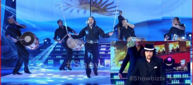 Ergün Demir deslumbra en ShowMatch con su danza