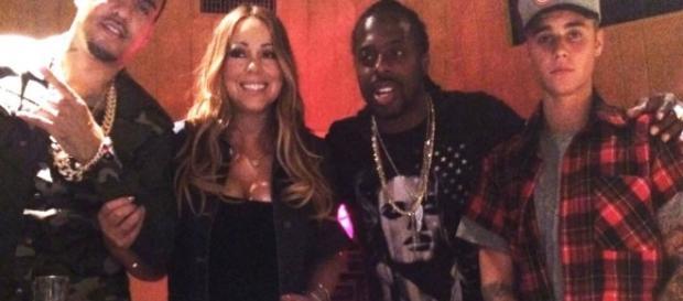 Foto foi divulgada por Montana e Mariah