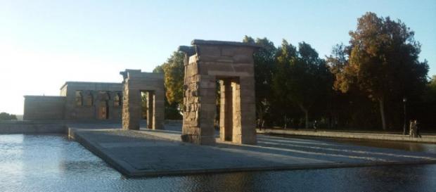 Templo de Debod, Madrid , Spagna