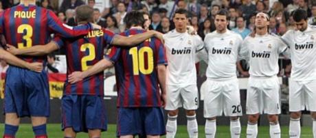 Real Madrid e Barcelona em destaque