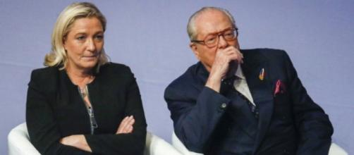 'C'eravamo tanto amati' Marine e Jean Marie Le Pen
