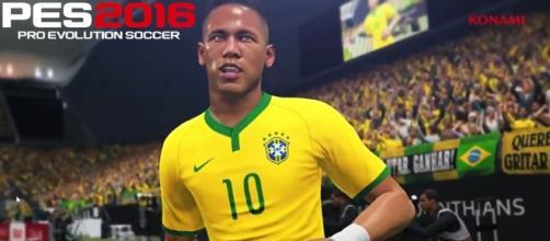 La copertina di Pro evolution soccer 2016