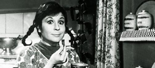 Lina Morgan en una de sus películas más conocidas.