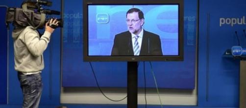 """Rajoy en su famosa conferencia """"plasma"""""""
