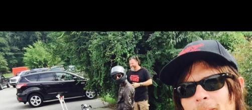 The Walking Dead Norman Reedus alias Daryl Dixon