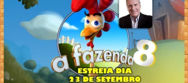 A Fazenda 8 estreia dia 23 de setembro