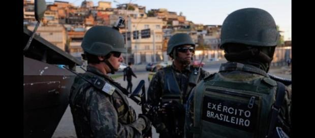 Les forces de sécurité brésilienne