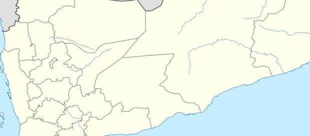 Mapa de Yemen. Wikimedia Commons. NordNordWest.