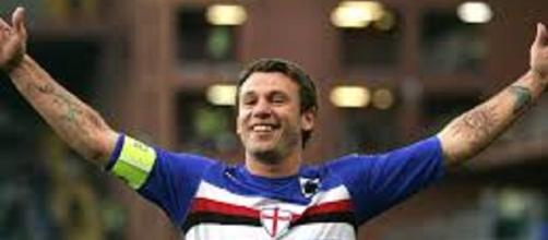Antonio Cassano e la Sampdoria