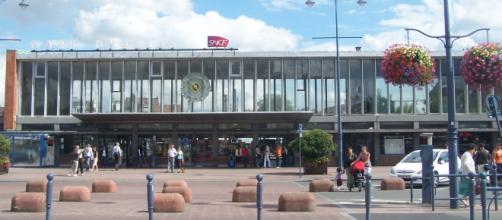 Estação de Arras, local do desvio do trem Thalys