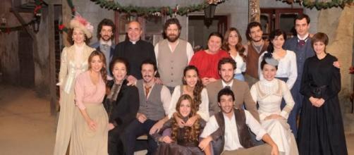 Il cast della soap opera 'Il Segreto'