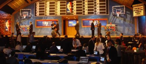 The infamous stage NBA draftees are called on.