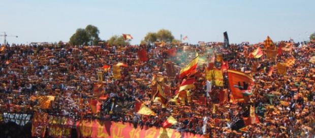 I tifosi del Lecce sono vicini alla squadra.