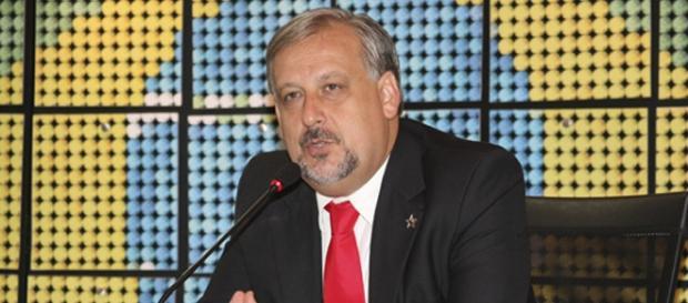 Ministro das Comunicações Ricardo Berzoini.