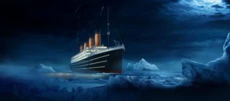 Imagem do famoso transatlântico Titanic