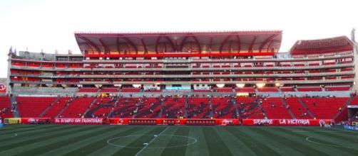 Estadio Caliente, Tijuana, B.C.