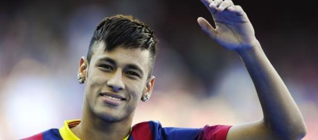 Neymar chegou ao Barcelona em 2013 vindo do Santos