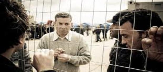 Rifugiati in centri d'accoglienza temporanei