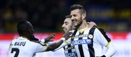 Juventus-Udinese, decide Cyril Thereau.