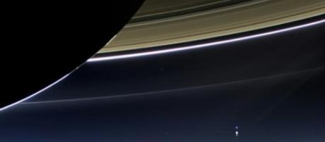 Saturne par la sonde Cassini, publication NASA