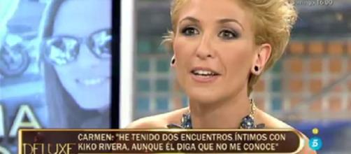 Carmen, la supuesta amante de Kiko Rivera