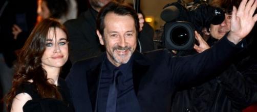 El actor Jean-Hugues Anglade en los César 2014.