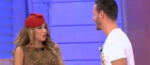 Leo y Steisy durante el programa MYHYV