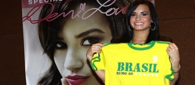 Demi virá ao Brasil em outubro de 2015