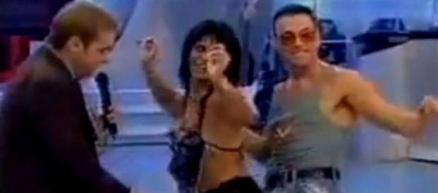 Gretchen diz que Van Damme não gosta de mulher