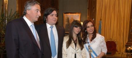 Florencia Kirchner tuvo a Elena