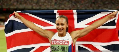 Jessica Ennis-Hill won gold in heptathlon