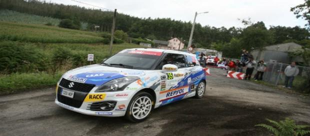 Adrián Díaz campeón copa Suzuki Swift en Ferrol