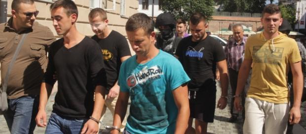 Cei patru criminali au fost arestați