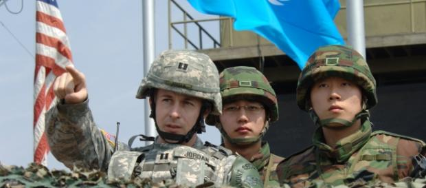 Punct de observaţie ONU la graniţa coreeană