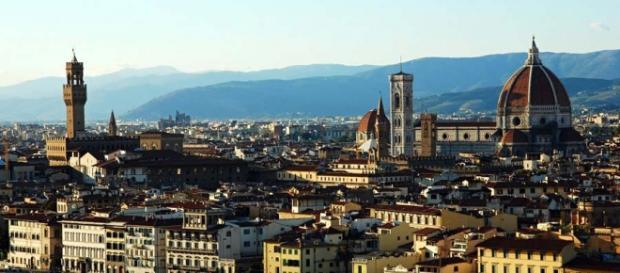 Una bella panoramica di Firenze