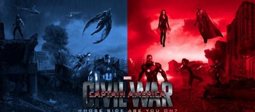 poster de Capitan América 3, Civil War