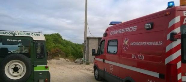 GNR e BV Fão estiveram no local.