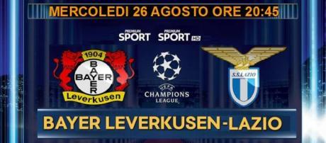 Diretta Tv e Streaming di Bayer Leverkusen-Lazio